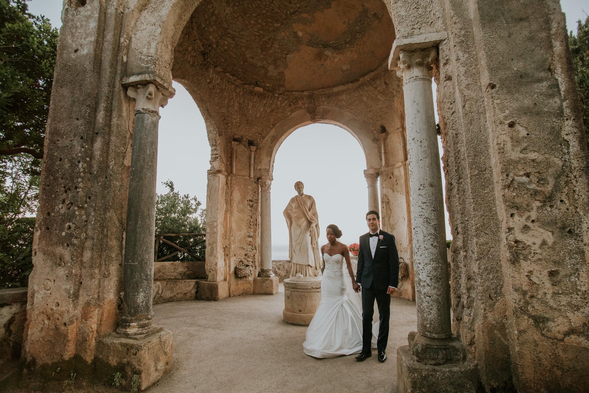 Amalfi Coast Wedding At Villa Cimbrone A Wedding