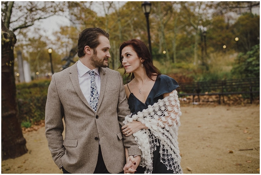 new york wedding shoot
